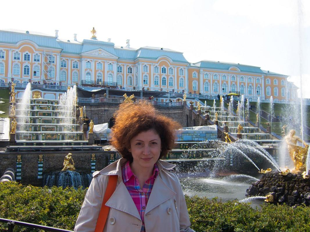 Большой Петергофский дворец - основное здание дворцово-паркового ансамбля «Петергоф»