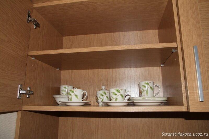 Мини-кухня в апартаменте в Вилла Люкс в отеле Margis (Литва)