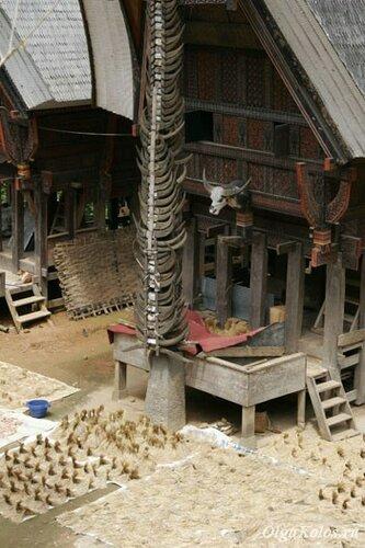 Традиционный дом Тана Тораджа