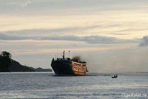 Корабль в Горонтало