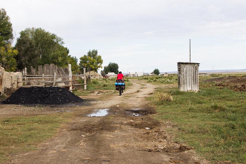 поселок Акший