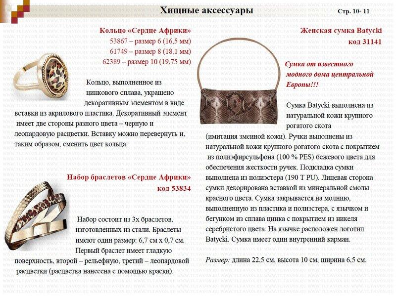 Подробное описание новинок каталога 15/2013_004