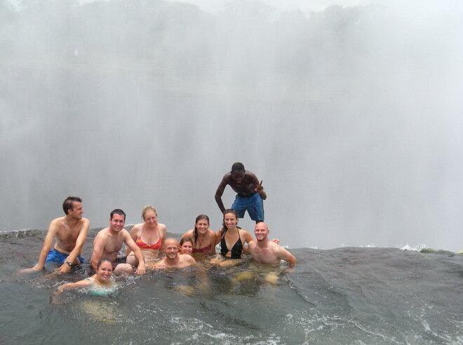Купель Дьявола (Devils Pool). Водопад Виктория
