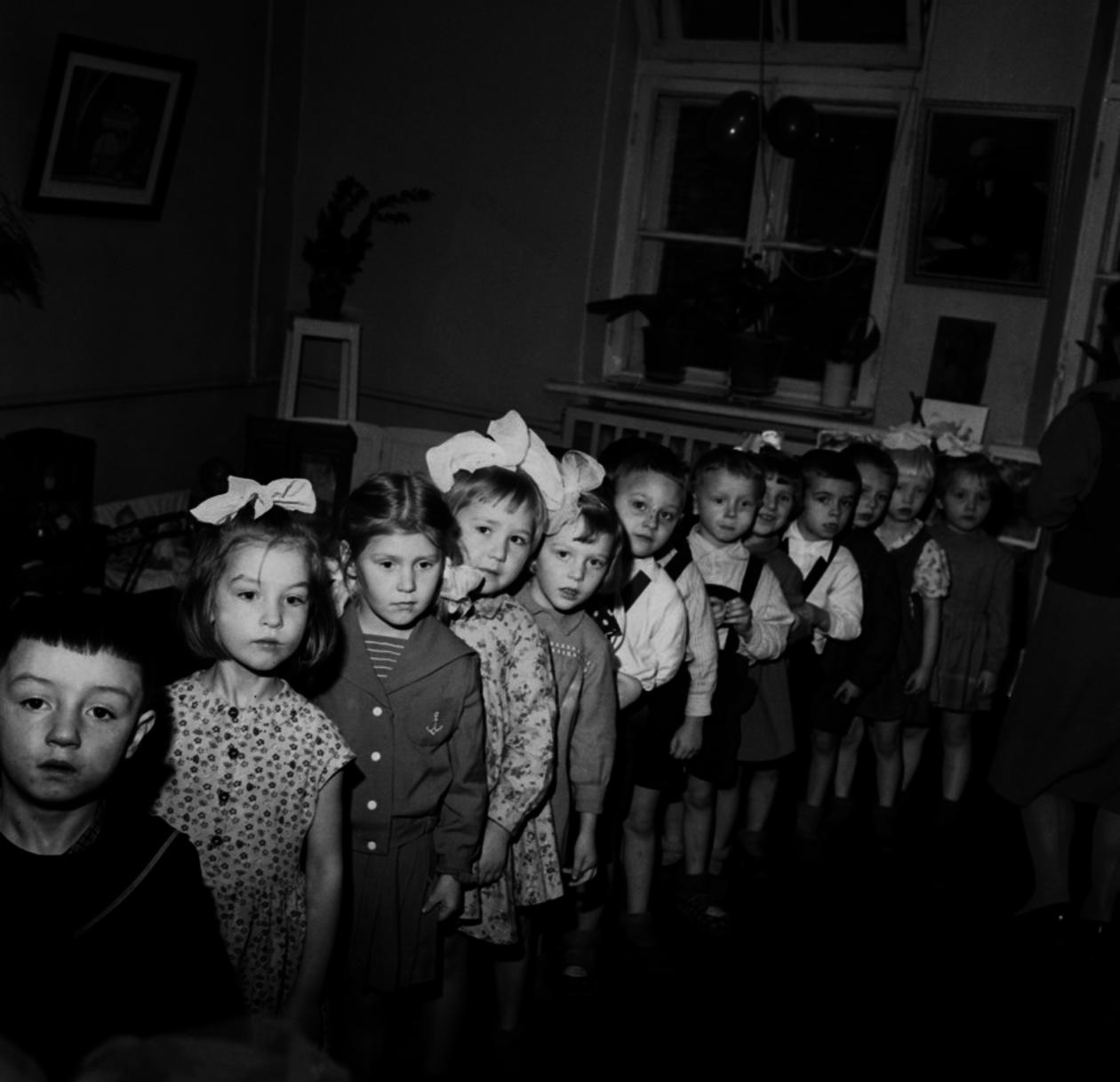 Ленинград. В детском саду