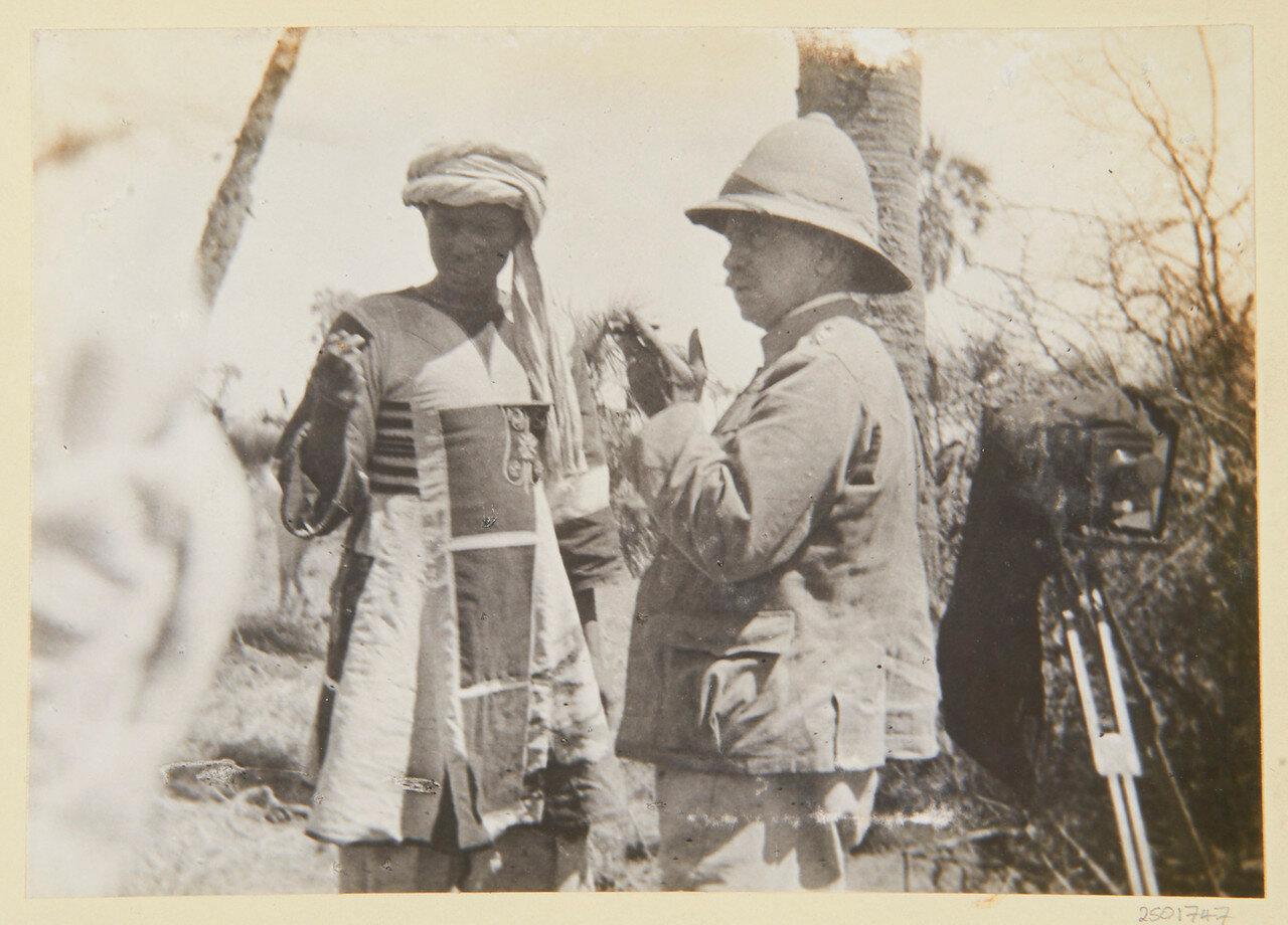 8 апреля 1898. Полковник Уингэйт допрашивает Махмуда