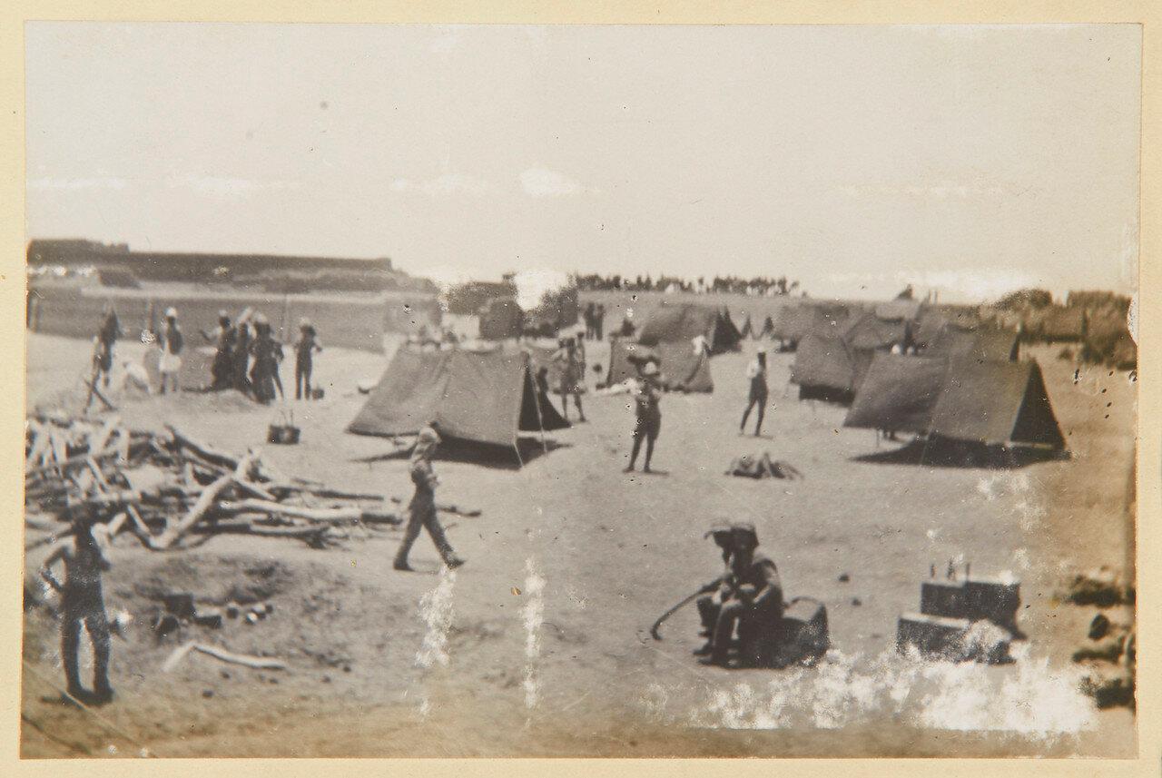 Лагерь стрелковой бригады