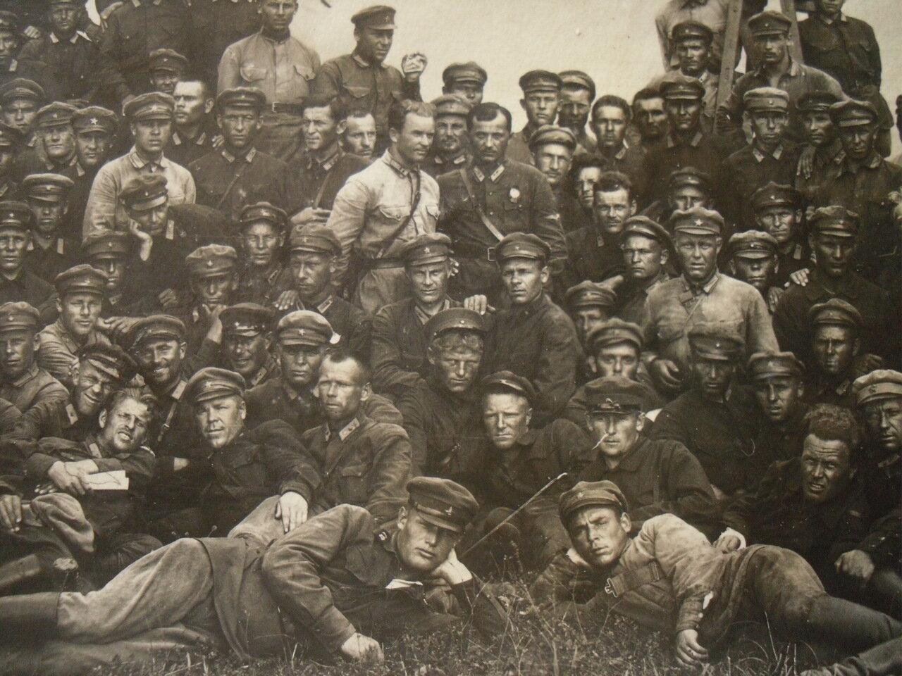 1925. Красноармейцы