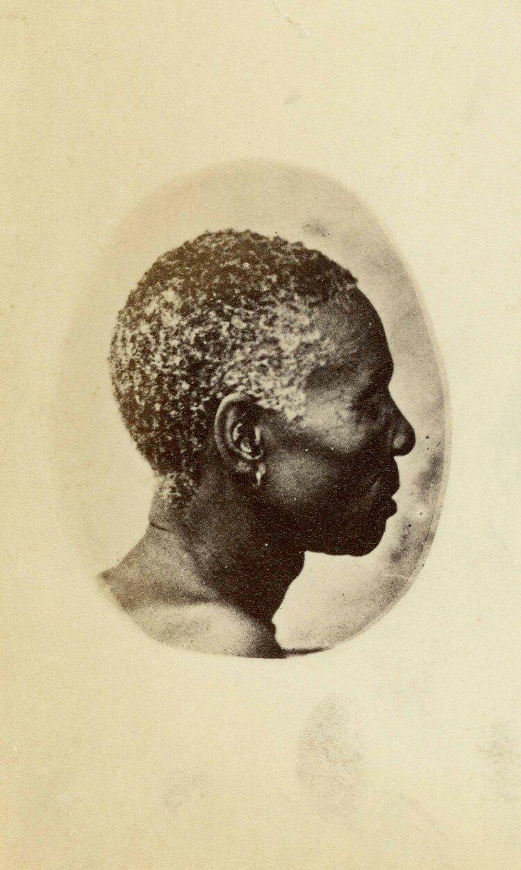 Женщина с острова Роббен, Южная Африка, 4 ноября 1863