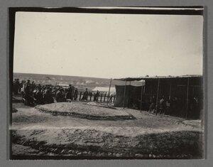 11. Чайная в лагере Калоераки на острове Лемнос.
