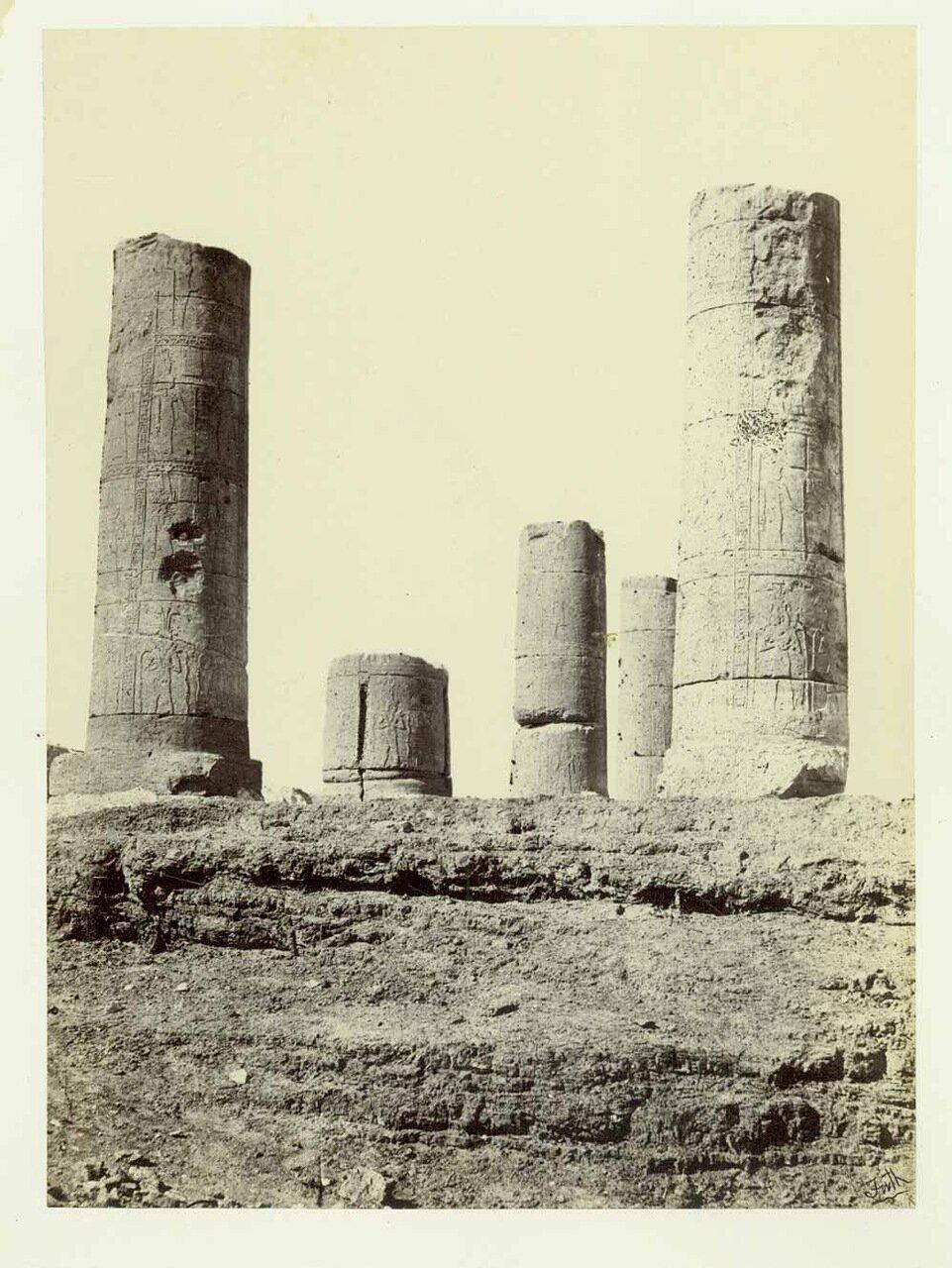 Храм в Амаре. 1862