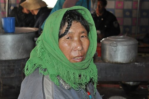 Тибетские странствия-7. Люди и лица. Тибетцы.
