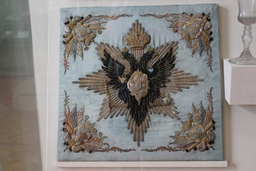 Штандарт Кирасирского голштинского полка. Фрагмент