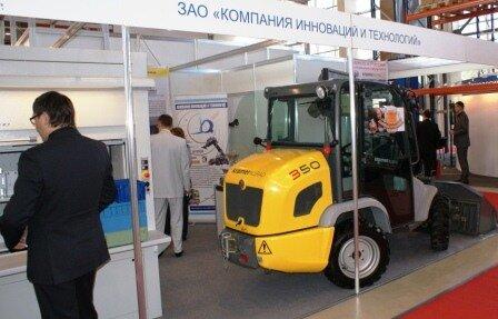 Стенд Компания инноваций и технологий ITFM CEMAT Россия 2010