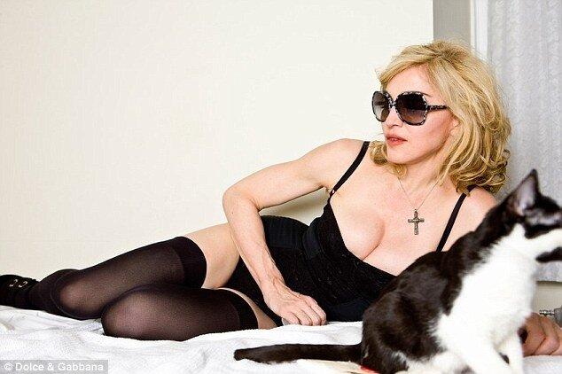 Мадонна снова в рекламе Dolce&Gabanna