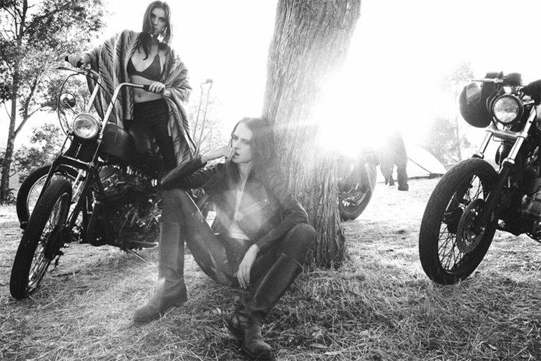 Маша Руденко и Надя Ченко / Masha Rudenko and Nadiya Chenko by Jason Lee Parry in Easy Born Wild Ride