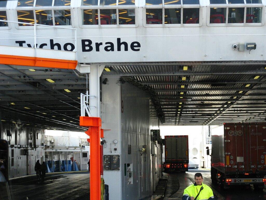 Паром Tycho Brahe