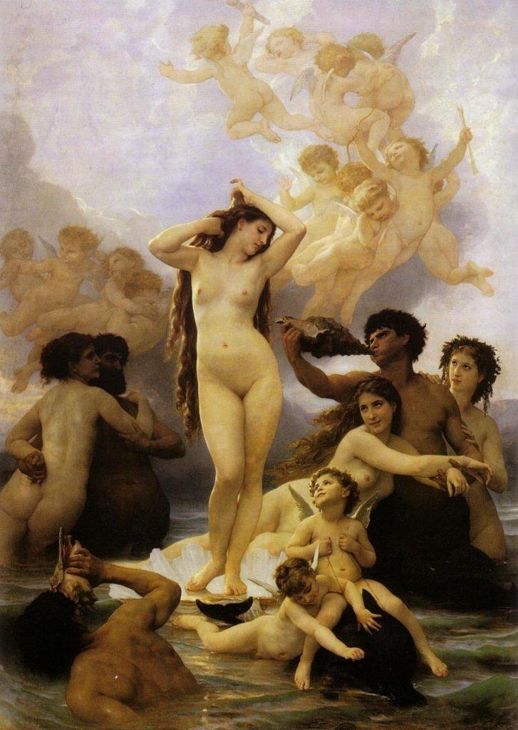 William Bouguereau La Naissance de Vénus 1879