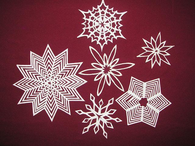 Снежинки самые красивые и