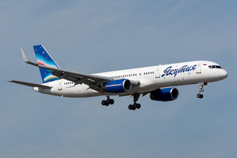Boeing 757-23N (VQ-BMW) Якутия DSC_3705