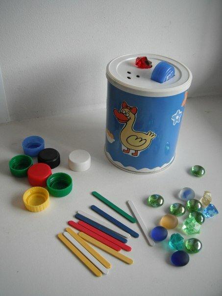 Поделки из банок для детей