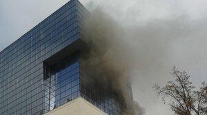 В Кишиневском Sun City произашел пожар