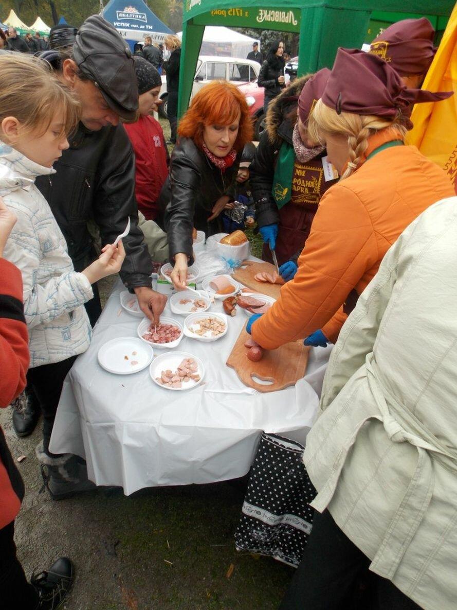 ФОТОРЕПОРТАЖ: В запорожском парке устроили колбасный фестиваль, фото-1