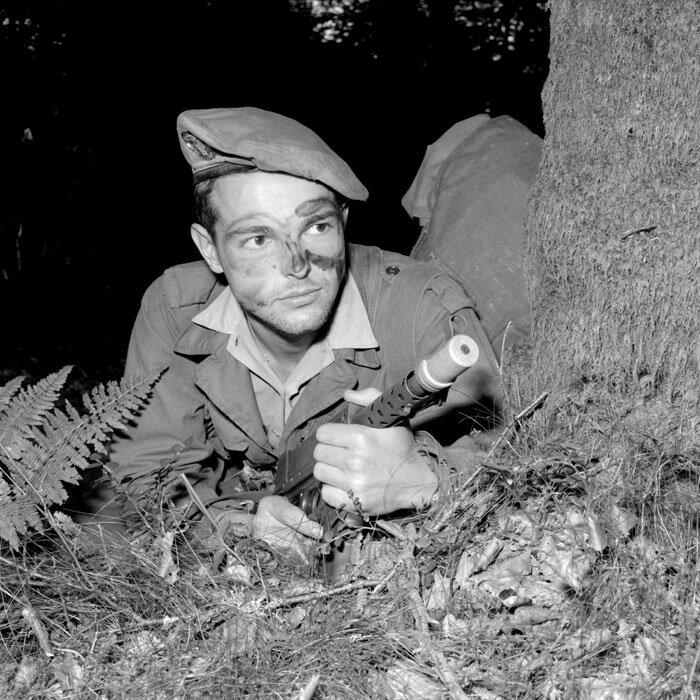 Un soldat du 1er RIMa