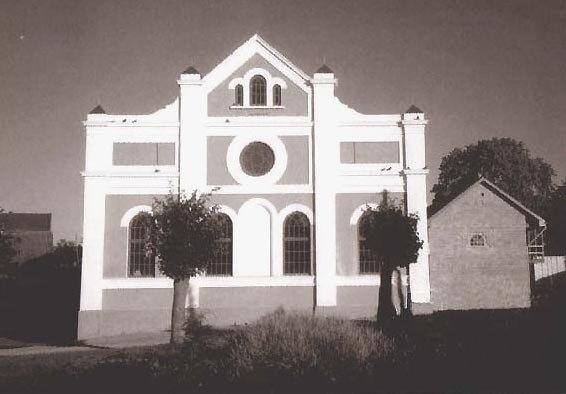 Старое фото здания синагоги