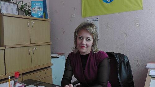 Анжела Салиженко - директор школы-интернат с.Васильевка