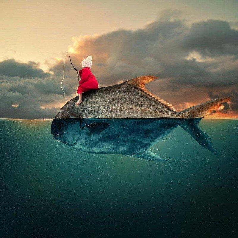 пинтерест на русском картинки фотоманипуляции вдохновение кожаный