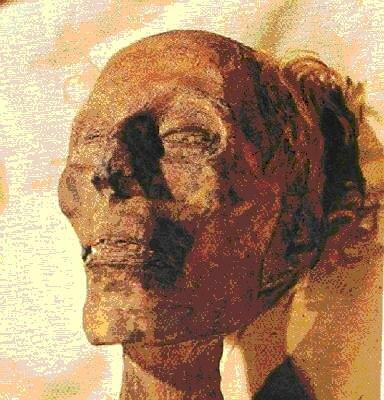 Фараон Рамсес II. 1279-1213 г. до н.э. Мумия