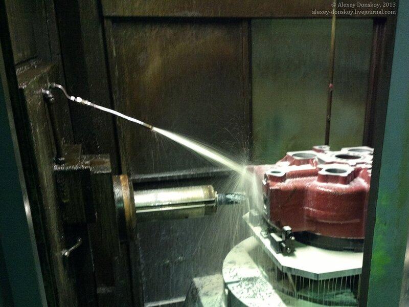 Металлообработка со смазочно-охлаждающей жидкостью