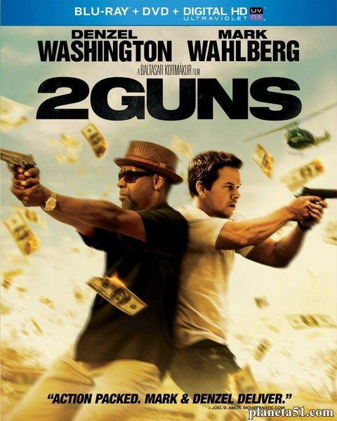 Два ствола / 2 Guns (2013/BDRip/HDRip) [Лицензия]
