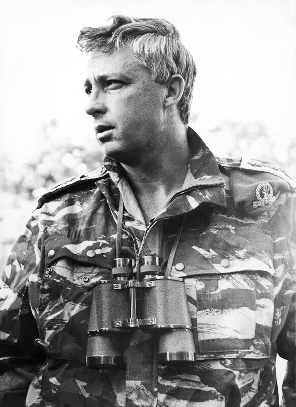Ariel Sharon, Head Of The Israeli Army'S Southern Command 1969