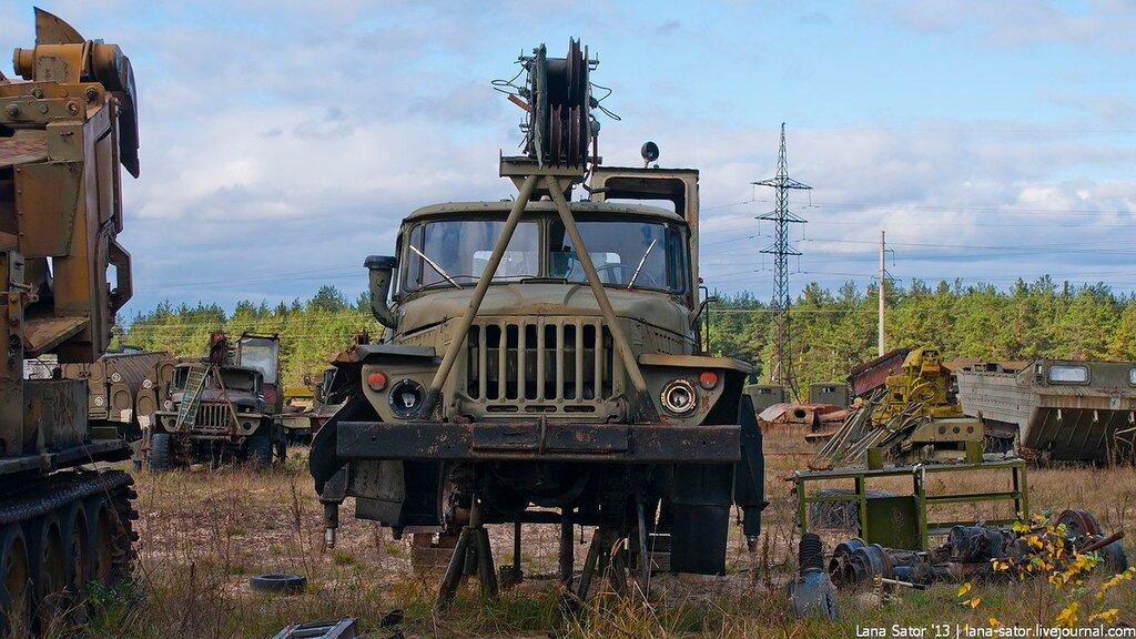 Списанная техника инженерных войск