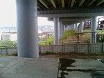 Под мостом Чебоксарской ГЭС