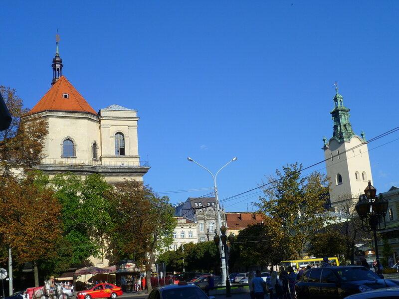 Церкви во Львове, Украина (Church in Lviv, Ukraine).