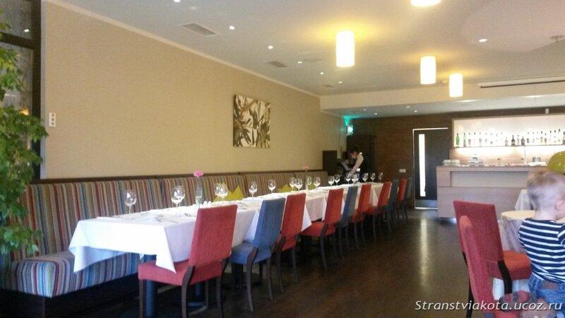 Ресторан в отеле Margis (Литва)