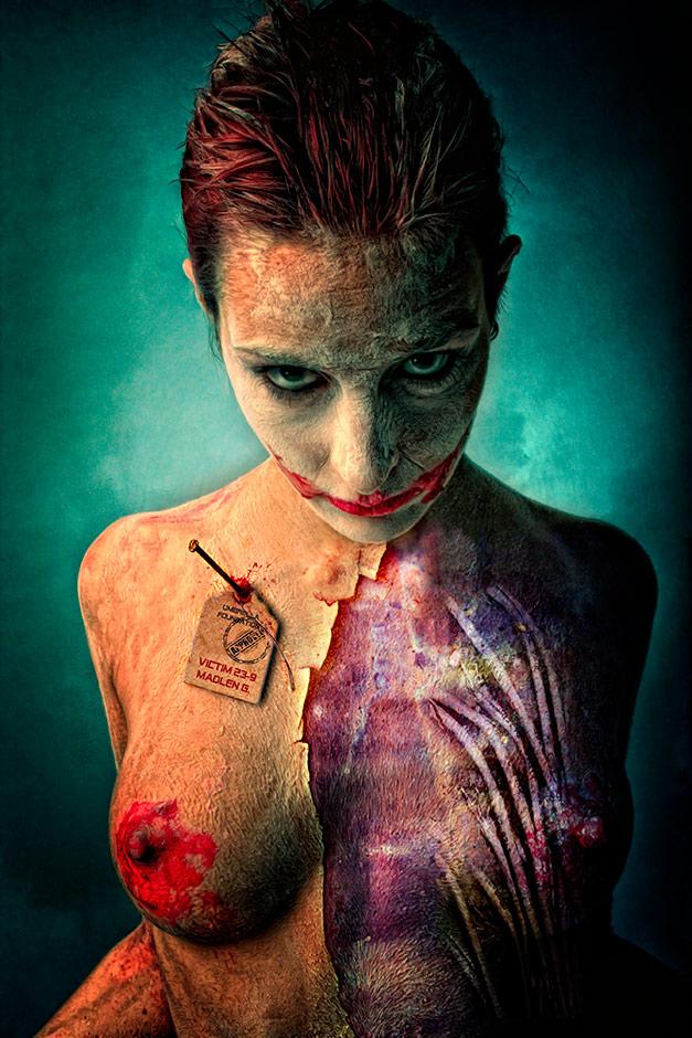 работы фотографа Штефана Гесселля / Stefan Gesell / nude / violence