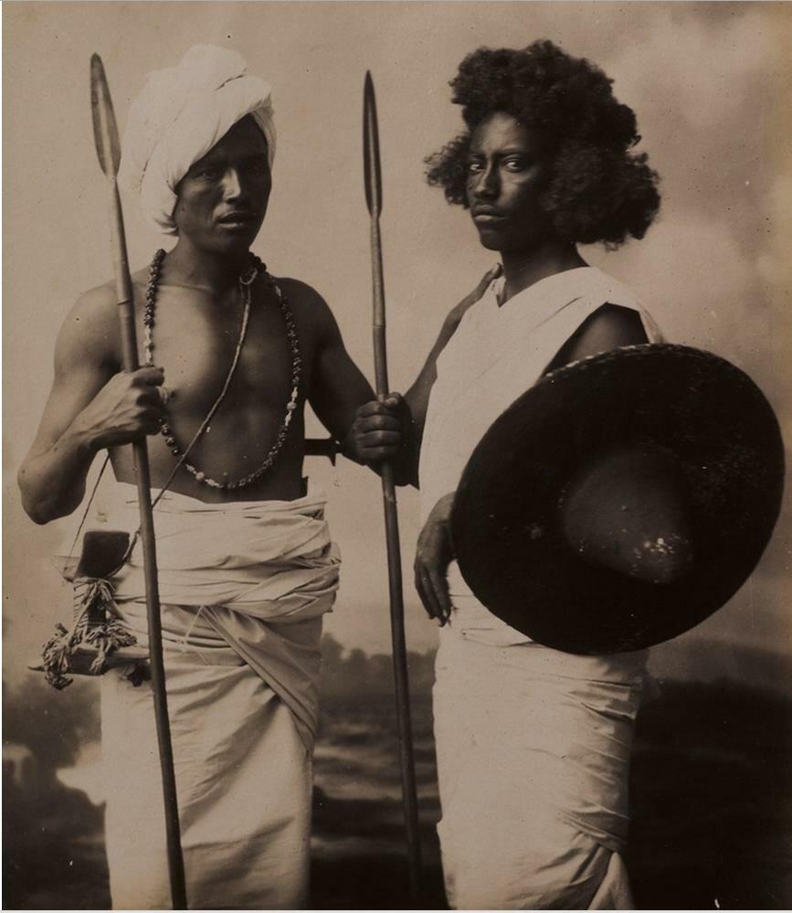 Нубийцы. Судан, вторая половина XIX века