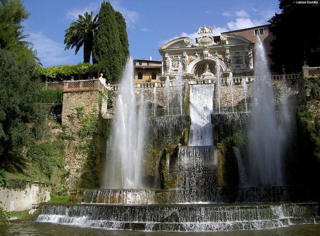 фонтан тиволи в риме фото