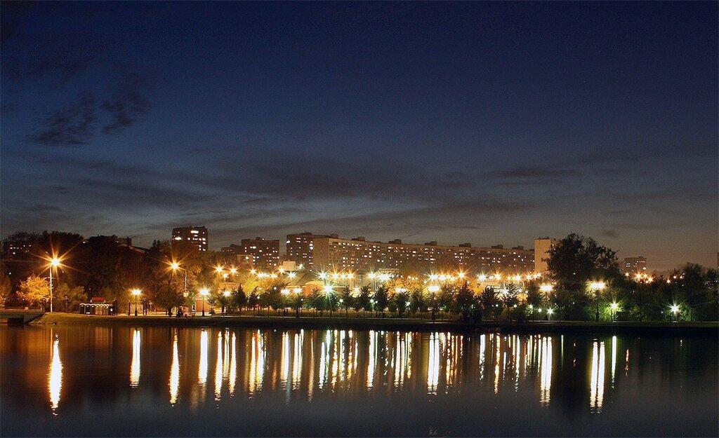 Царицыно и вокруг, ночь, 26 сентября