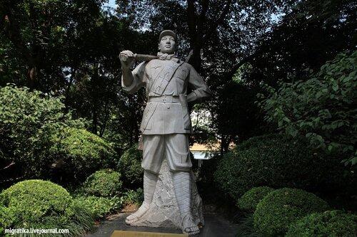 Парк в центре Шанхая
