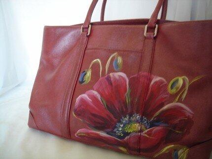 Ручная роспись сумок