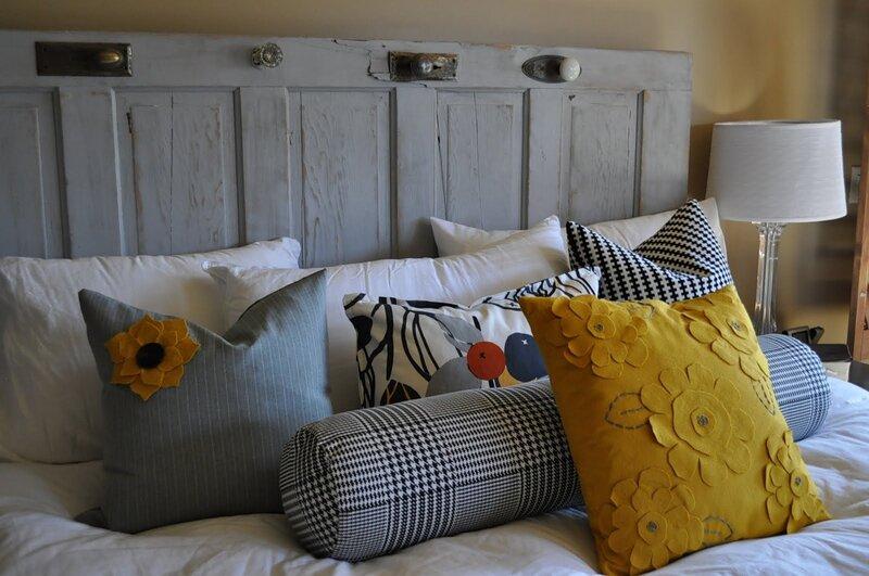 декорирование подушки своими руками