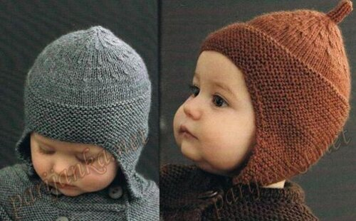 Вязаная шапочка для мальчика a85d63d9eb240