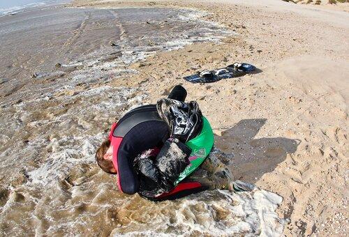 Кайтсерфинг в Анапе 2010-09-30