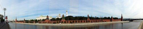 Панорама Кремля