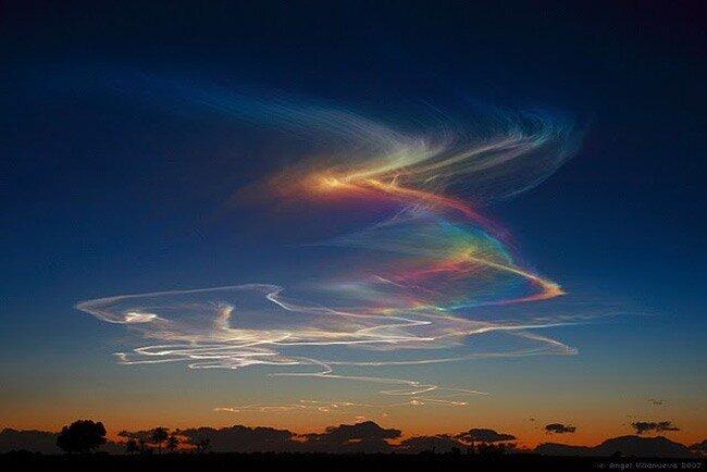 необычные явления на небе