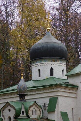 Церковь Спаса Нерукотворного - Абрамцево